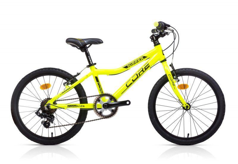 "Dětské kolo Core nipper 20"" žluté fluo Sprinterbike"