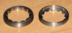 ROTOR  _132 Ocelový kroužek pro montáž/demontáž klik 3D+