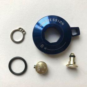 Motion Control Compression Knob Standard Alum w/ Cir-Clip (Gate cap, ext. Gate knob)