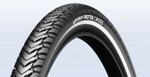Plášť Michelin Protek Cross 42-622, černý s reflexním pruhem