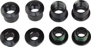 X01/DH Chainring Bolt Kit 4-arm Aluminum Black