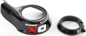 X0 Grip Shift Red Cover/Clamp Kit, Left Qty 1