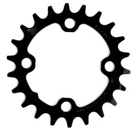 CHAIN RING MTB 22T 64 STEEL MATTE BLACK 2X10 NO PIN