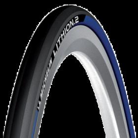 Plášť Michelin LITHION 2 V2, 23-622 (700X23C), modrý