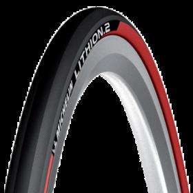 Plášť Michelin LITHION2 23-622 (700X23C), červený