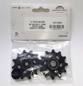 REAR DERAILLEUR PULLEY KIT APEX1/NX 11 SPEED
