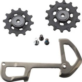 REAR DERAILLEUR PULLEY AND INNER CAGE XX1 EAGLE 12 SPEED X-SYNC GREY