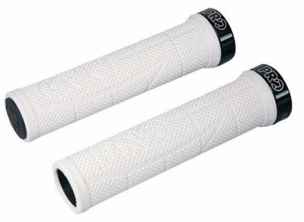 PRO gripy XCR bílo-černé 130mm par