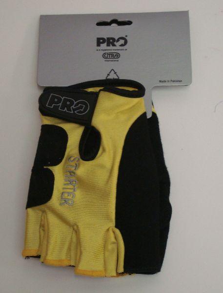 PRO rukavice letní, žlutá, XXL