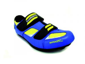 SHIMANO silniční obuv SH-R073Y, žlutá/modrá, 41