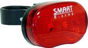 SMART zadní blikačka 3 diod + bat