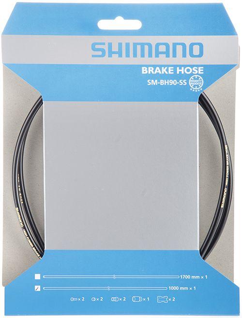 SHIMANO brzdová hadice MTB SM-BH90 SS-Deore/DeoreLX 1000 mm černá bal