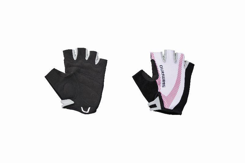 SHIMANO dámské rukavice BASIC, fuchsiová, L