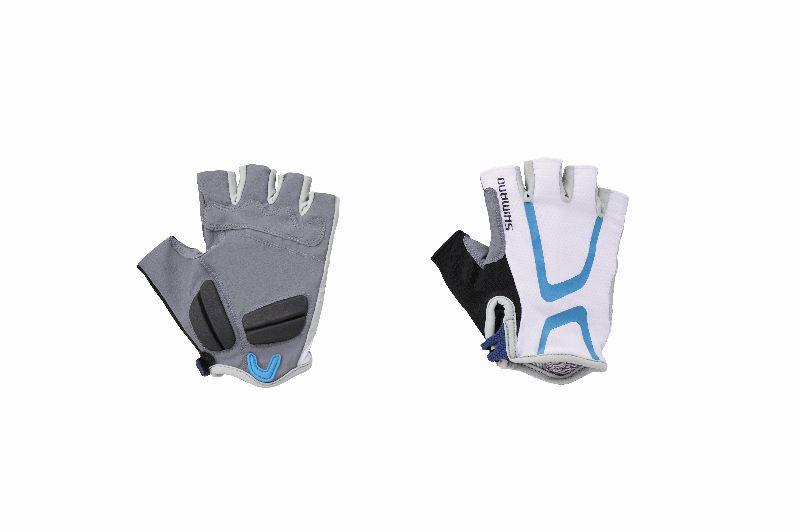 SHIMANO dámské rukavice LIGHT, modrá/zelená, M