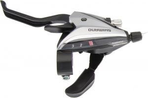 SHIMANO řad/brzd. páka ACERA ST-EF65 MTB/trek pro V-brzdy levá 3 rychl 2 prstá stříbrná