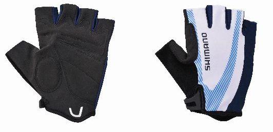 SHIMANO rukavice BASIC race, modrá, L