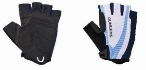 SHIMANO rukavice BASIC race, modrá, XXL