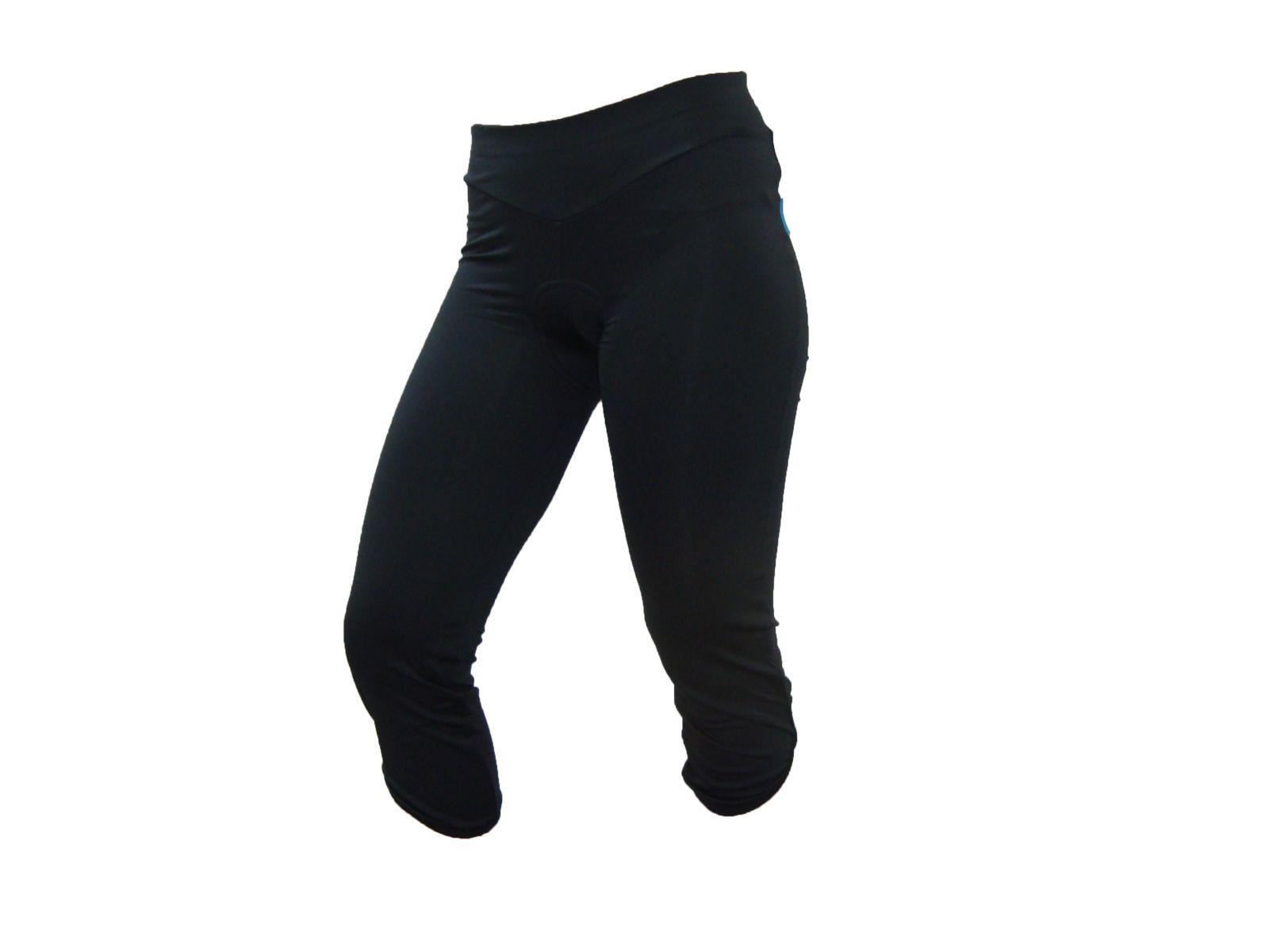 SHIMANO dámské 3/4 kalhoty, černá, L