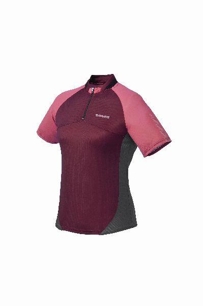 SHIMANO dámský dres krátký rukáv, růžová, S