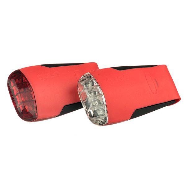 GUEE Tadpole USB SET př+z světlo/blikačka-červený