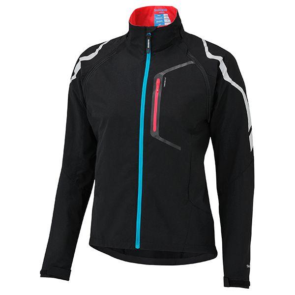 SHIMANO Hybrid bunda, dámská, černá, XL