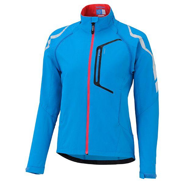 SHIMANO Hybrid bunda, dámská, lightning modrá, M
