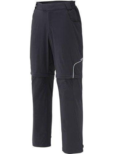SHIMANO Touring kalhoty, černá, L