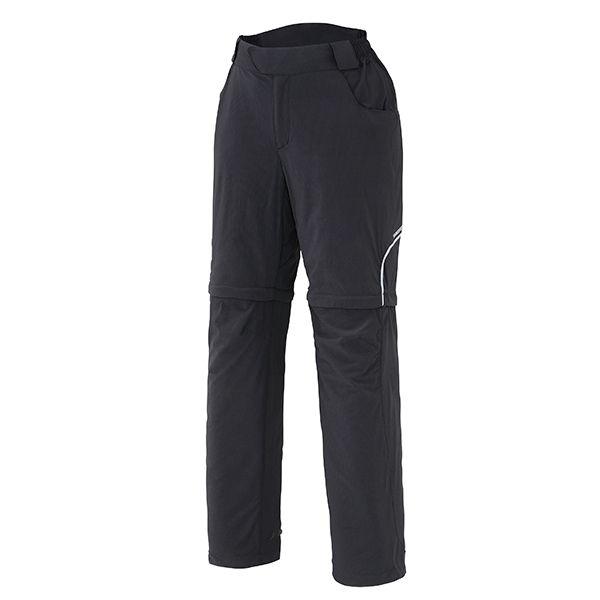 SHIMANO Touring kalhoty, dámské, černá, L