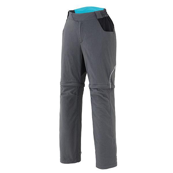 SHIMANO Touring kalhoty, dámské, charcoal, L