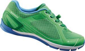 SHIMANO click'r obuv SH-CT41G, zelené, 41