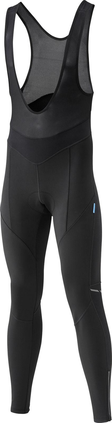 SHIMANO Performance Windbreak kalhoty s laclem, černá, L