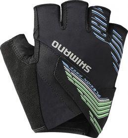 SHIMANO ADVANCED rukavice, zelená, XL