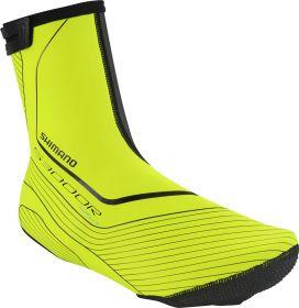 SHIMANO návleky ROAD  NPU+/S3000R, neon žlutá, XXL