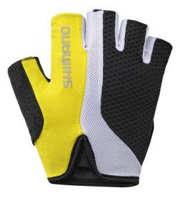 SHIMANO Touring rukavice, žlutá, L