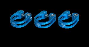 PRO sedlovková objímka odlehčená, 31,8mm, modrá