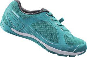 SHIMANO click'r obuv SH-CW41G, zelené, 42