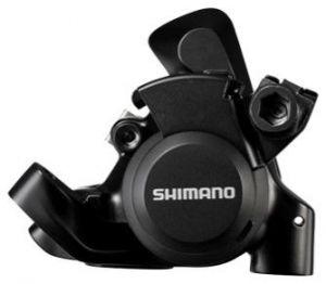SHIMANO brzda Sil-ostatní BR-RS305 kotouč zadní mechanická polymer L03A + chladič černá bal