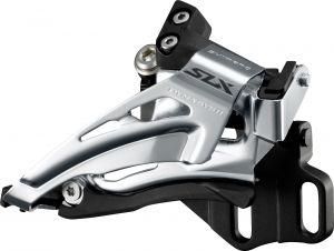 SHIMANO přesmykač SLX FD-M7025 MTB pro 2x11 př mont E-typ bez BB Top-swing down-pull 34/38 z