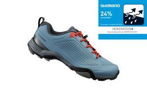 SHIMANO turistické obuv SH-MT300MB, modrá, 46