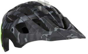 LAZER přilba MTB REVOLUTION Camo černá/Flash zelená M 55-59 cm