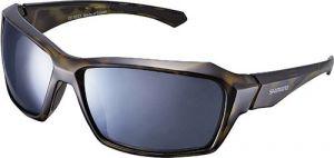 SHIMANO brýle S22X, hnědátortoise(Bekko)-černá, skla kouřová stříbrná zrcadlová
