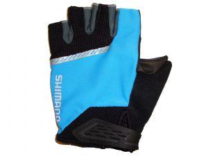 SHIMANO Original rukavice, černá/modrá, L