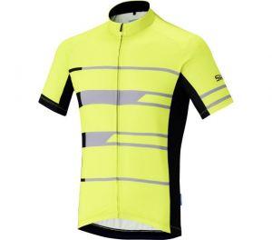 SHIMANO Shimano Team dres, Neon žlutá, XL
