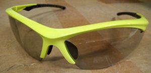 SHIMANO brýle EQX2 limetkově žlutá, skla fotochromatická šedá