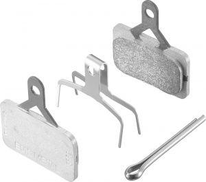 SHIMANO brzdové destičky E01S kovové MTB