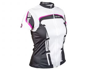 AUTHOR Dres Lady Sport S (15A bílá/růžová/černá)