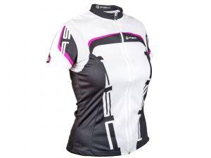 AUTHOR Dres Lady Sport XS (15A bílá/růžová/černá)