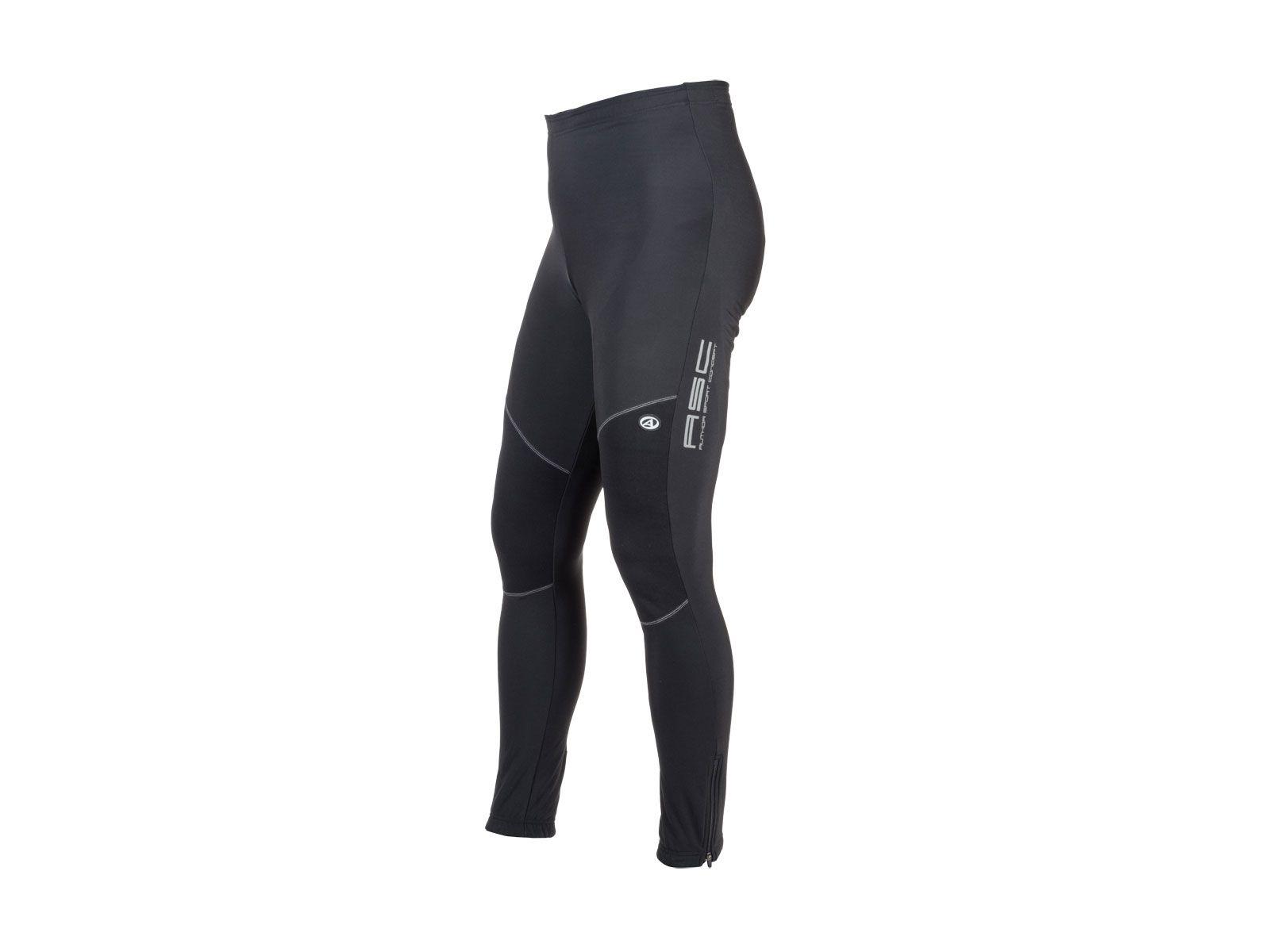 AUTHOR Kalhoty dlouhé Men Sport NoWind pas (bez vložky) S (černá)
