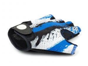 AUTHOR Rukavice Junior X6 L (modrá/bílá/černá)