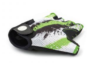 AUTHOR Rukavice Junior X6 L (zelená/bílá/černá)